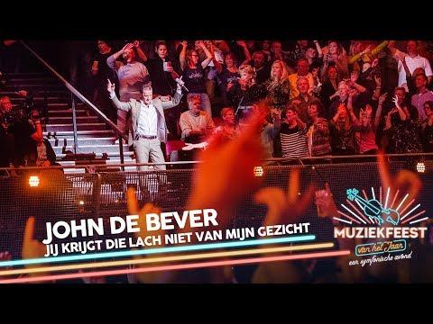 John de Bever - Jij krijgt die lach niet van mijn gezicht | Muziekfeest van het Jaar 2018