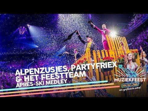 De Alpenzusjes, Het Feestteam & PartyFrieX - Après-ski Medley | Muziekfeest van het Jaar 2018